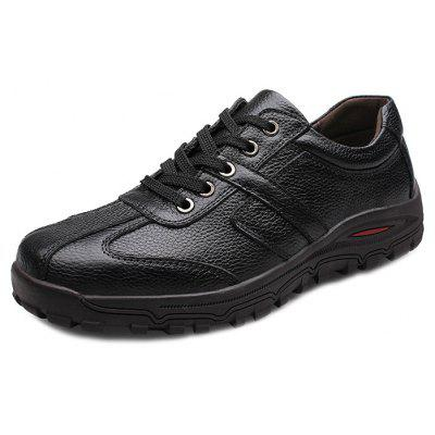 Casual Genuine Leather Lace-up Shoes