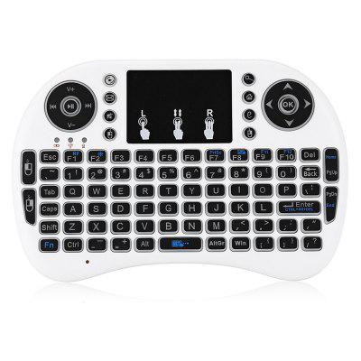 V81 Portable 2.4GHz Wireless Air Mouse Mini Keyboard Touchpad