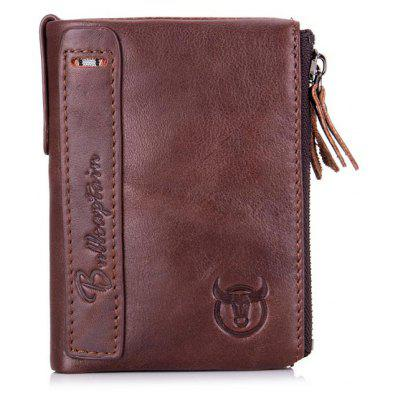 BULLCAPTAIN Men Retro Genuine Leather Bifold WalletWallets<br>BULLCAPTAIN Men Retro Genuine Leather Bifold Wallet<br><br>Brand: BULLCAPTAIN, BULLCAPTAIN<br>Closure Type: Snap Fastener, Snap Fastener, Zip, Zip<br>Features: Wearable, Wearable<br>For: Traveling, Traveling, Shopping, Shopping, Outdoor, Outdoor, Daily Use, Daily Use<br>Gender: Men, Men<br>Material: Leather, Leather<br>Package Size(L x W x H): 11.50 x 5.00 x 14.00 cm / 4.53 x 1.97 x 5.51 inches, 11.50 x 5.00 x 14.00 cm / 4.53 x 1.97 x 5.51 inches<br>Package weight: 0.1700 kg, 0.1700 kg<br>Packing List: 1 x Wallet , 1 x Wallet<br>Product Size(L x W x H): 9.50 x 3.00 x 12.00 cm / 3.74 x 1.18 x 4.72 inches, 9.50 x 3.00 x 12.00 cm / 3.74 x 1.18 x 4.72 inches<br>Product weight: 0.1500 kg, 0.1500 kg<br>Style: Fashion, Business, Business, Fashion<br>Type: Wallet, Wallet