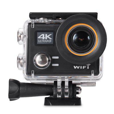 PRO5 4K Ultra HD Action Camera with Remote Controller ultra hd 4k wifi sport action camera h8r h8 with remote control dual screen 2 lcd waterproof helmet vr360 camcorder dvr