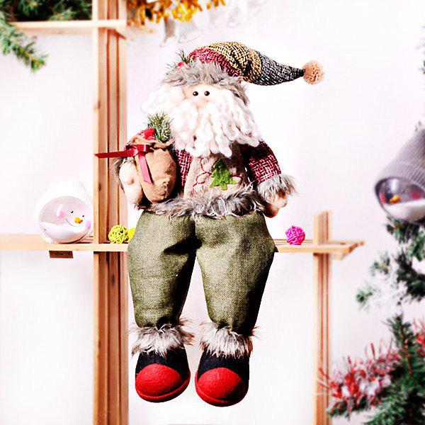Cloth Christmas Decoration Doll 1PC