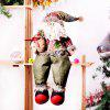Cloth Christmas Decoration Doll 1PC - GREEN