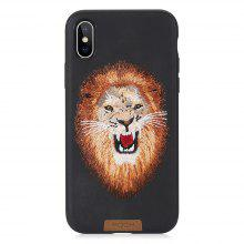 Rock Bandersnatch Pattern Protective Case for iPhone X