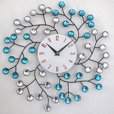 Timelike T8093 Iron Fashion Decor Mute Reloj de pared