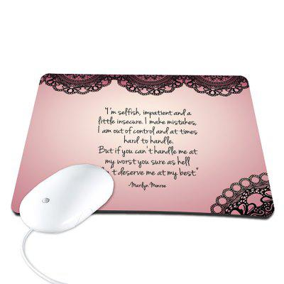 Non-Slip Computer Mouse Pad for Home Office