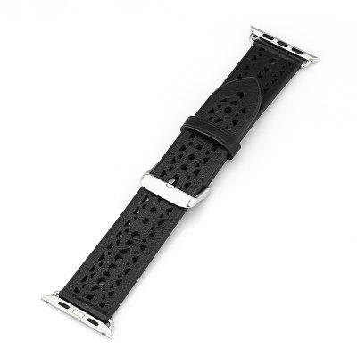 42mm Hollow-out Wrist Watch Strap for iWatch Series 3 / 2 / 1