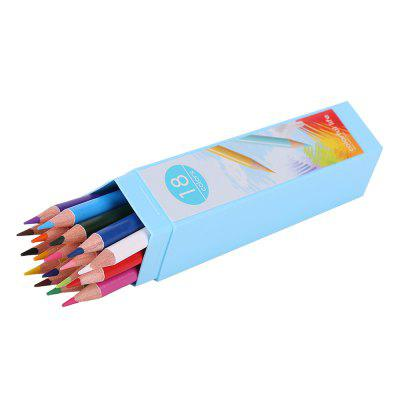 Deli 6531 Pentagons Barrel Colored Pencils 18PCS Arvada The prices of things