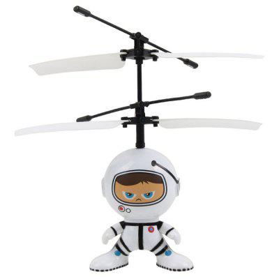 1304 RC Space Doll Toy with Dual Control Mode