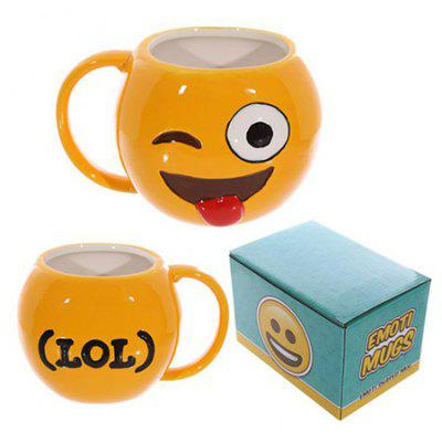 Emoji Design Ceramic Mug Milk Coffee Cup
