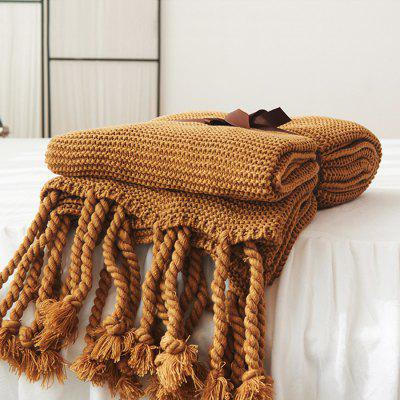 Double-sided Sofa Knit Carpet Cotton Bed Tapestry