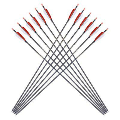 Practical Durable Arrows for Hunting Archery 12PCS