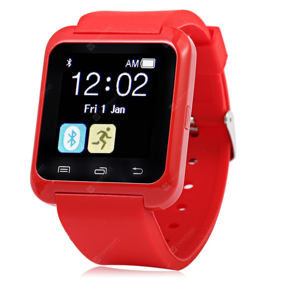U8 Smart Bluetooth Watch Call Message Reminder