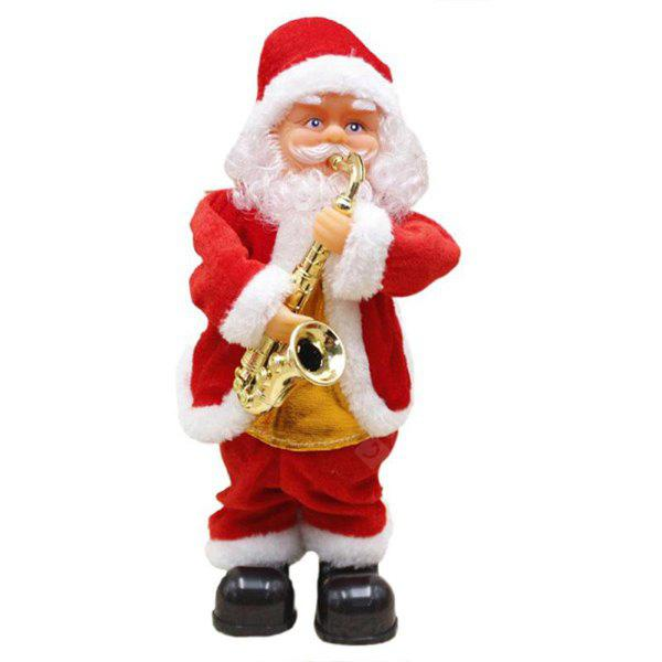 Electric Santa Claus Toy Funny Dancing Christmas Gift
