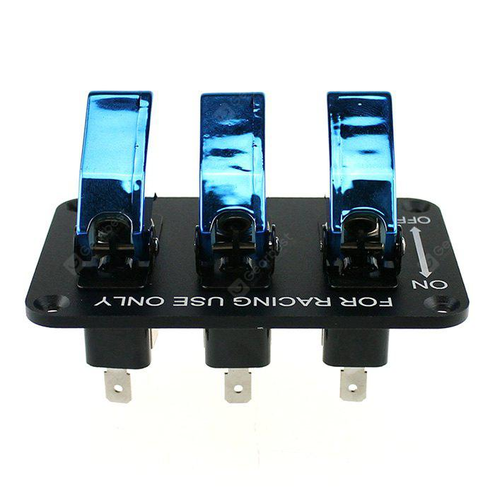 YKT - AB028 12V Motor Racing 3 Sets of Switch Panels