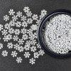 XM DIY Snowflake Design Manicure Tools Nail Decoration - WHITE