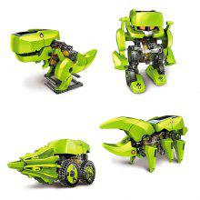 CUTE SUNLIGHT 2125 T4 4 in 1 Solar Dinosaur Robot DIY Kit