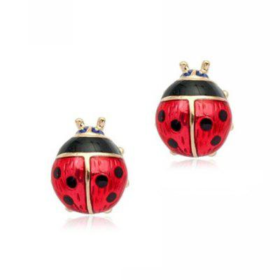 Stylish Cute Ladybug Women Stud Earrings