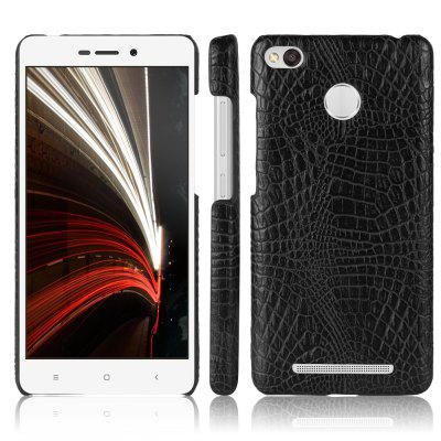 Luanke Crocodile PU Leather + Estojo para PC para Xiaomi Redmi 3X