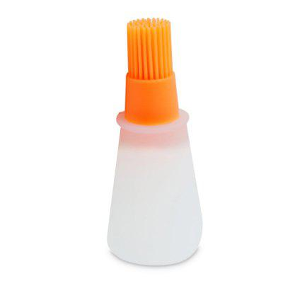 Durable Kitchen Silicone Oil Brush Basting Bottle