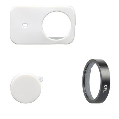 Action Camera Accessories Cover Set for Xiaomi mijia