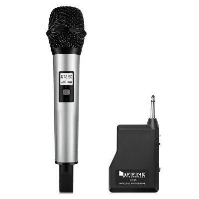 FIFINE K035 Wireless Handheld Microphone with Receiver