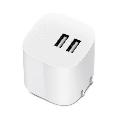 BULL GN - U1120N Dual USB Ports Wall Charger Power Adapter