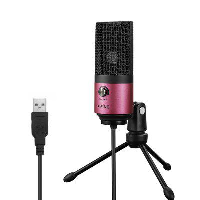 FIFINE K669 USB Wired Microphone with Recording Function