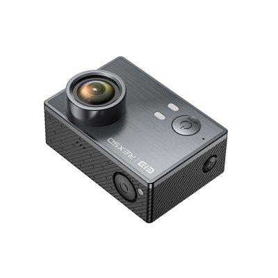 Elephone REXSO Explorer K Waterproof 4K Action CameraAction Cameras<br>Elephone REXSO Explorer K Waterproof 4K Action Camera<br><br>Aerial Photography: No<br>Anti-shake: Yes<br>Battery Capacity (mAh): 1200mAh<br>Battery Type: Built-in<br>Brand: Elephone<br>Camera Timer: Yes<br>Charge way: USB charge by PC<br>Charging Time: 2h<br>Features: Mini<br>Function: Anti-Shake, Waterproof, Camera Timer<br>Image Format: JPG<br>Lens Diameter: 18mm<br>Max External Card Supported: TF 128G (not included)<br>Model: REXSO Explorer K<br>Night vision: No<br>Package Contents: 1 x Elephone Explorer K 4K Action Camera, 1 x Set of Accessories<br>Package size (L x W x H): 19.00 x 14.50 x 8.50 cm / 7.48 x 5.71 x 3.35 inches<br>Package weight: 0.4470 kg<br>Product size (L x W x H): 5.90 x 4.10 x 3.20 cm / 2.32 x 1.61 x 1.26 inches<br>Product weight: 0.0650 kg<br>Screen: With Screen<br>Screen resolution: 320x240<br>Screen size: 2.0inch<br>Standby time: 4h<br>Type: Sports Camera<br>Type of Camera: 4K<br>Video format: MP4<br>Video Frame Rate: 120fps,30FPS,60FPS<br>Video Resolution: 1080P ( 30fps ) ( EIS ),1080P ( 60fps ) ( EIS ),4K (30fps),720P (120fps)<br>Waterproof: Yes<br>Waterproof Rating: IP68 30m<br>Wide Angle: 170 degree wide angle<br>WIFI: Yes<br>WiFi Distance: 10 - 15m<br>Working Time: about 90 min at 1080P 30FPS