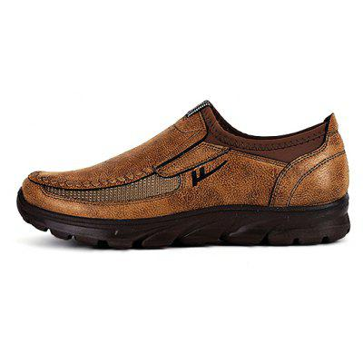 Male Flat Soft Breathable Wide-toe Casual ShoesCasual Shoes<br>Male Flat Soft Breathable Wide-toe Casual Shoes<br><br>Closure Type: Slip-On<br>Contents: 1 x Pair of Shoes<br>Function: Slip Resistant<br>Materials: Suede, PUR<br>Occasion: Tea Party, Party, Office, Holiday, Shopping, Casual, Daily<br>Outsole Material: PUR<br>Package Size ( L x W x H ): 30.00 x 22.00 x 10.00 cm / 11.81 x 8.66 x 3.94 inches<br>Package weight: 0.9200 kg<br>Pattern Type: Solid<br>Product weight: 0.9000 kg<br>Seasons: Autumn,Spring<br>Style: Modern, Leisure, Fashion, Comfortable, Casual<br>Toe Shape: Round Toe<br>Type: Casual Leather Shoes<br>Upper Material: Suede