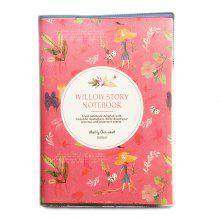 QCY 101908 Cute Notebook for Kids Students 2PCS