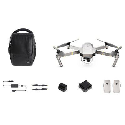 DJI Mavic Pro Platinum Foldable RC Quadcopter - RTF - PLATINUM FLY MORE COMBO