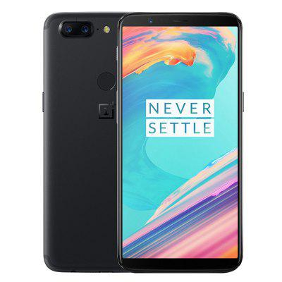 OnePlus 5T 4G Phablet International Version  -  BLACK 128Go