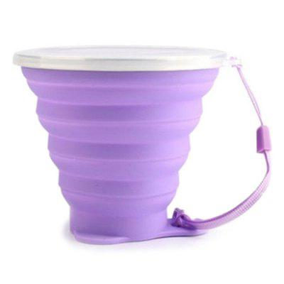 Travel Portable Foldable Retractable Drinking Cup Mug