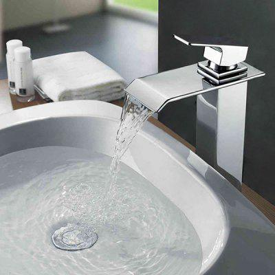 MLFALLS M1228CW - H Waterfall Bathroom Basin Sink Faucet