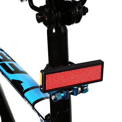 LEADBIKE LD45 USB Charge de LED Lumière de Queue de Bicyclette