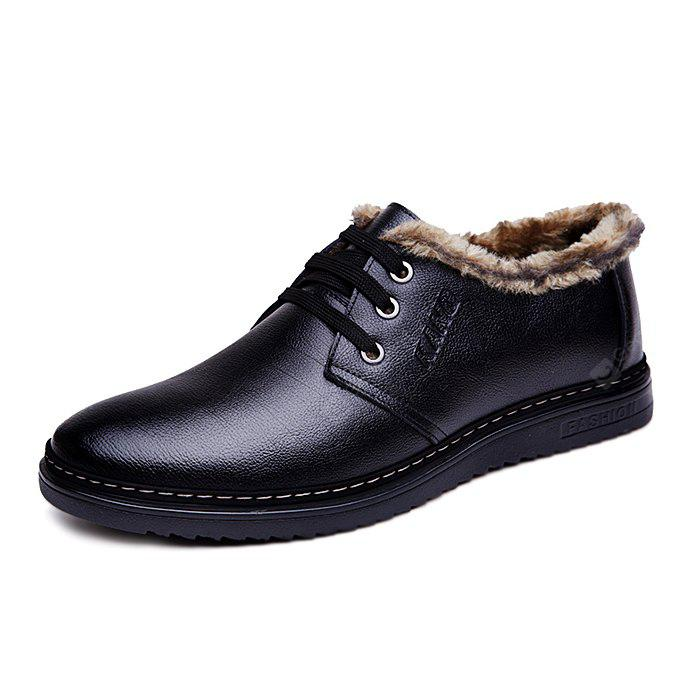 explore for sale free shipping for nice MUHUISEN Men Business Warmest Dress Shoes zixRP