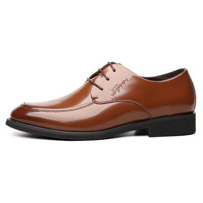 MUHUISEN Men Business Brush-off Leather Dress ShoesFormal Shoes<br>MUHUISEN Men Business Brush-off Leather Dress Shoes<br><br>Brand: MUHUISEN<br>Closure Type: Lace-Up<br>Contents: 1 x Pair of Shoes, 1 x Box<br>Function: Slip Resistant<br>Lining Material: PU<br>Materials: PU, Rubber, Leather<br>Occasion: Tea Party, Shopping, Party, Office, Casual, Daily, Dress, Formal<br>Outsole Material: Rubber<br>Package Size ( L x W x H ): 32.00 x 16.00 x 12.00 cm / 12.6 x 6.3 x 4.72 inches<br>Package weight: 1.1000 kg<br>Pattern Type: Solid<br>Product weight: 0.9000 kg<br>Seasons: Autumn,Spring<br>Style: Casual, Business, Comfortable, Fashion, Formal, Leisure, Modern<br>Toe Shape: Round Toe<br>Type: Casual Leather Shoes<br>Upper Material: Leather