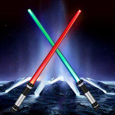 YWXLight Luz-Sabre com Dupla Face LED RGB 2PCS