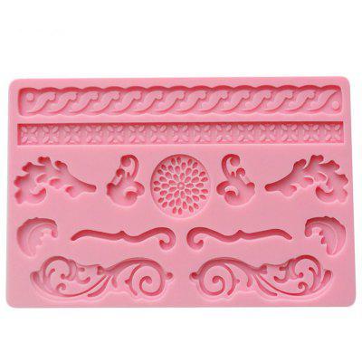 facemile 04013 Fondant Cake Jelly Puding Lace Forma