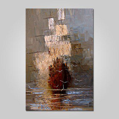 God Painting Canvas Prints Gabbiano Hanging Wall Art