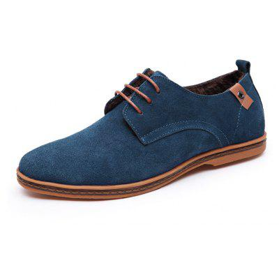 MUHUISEN Male British Warmest Well-dressed Oxford Shoes