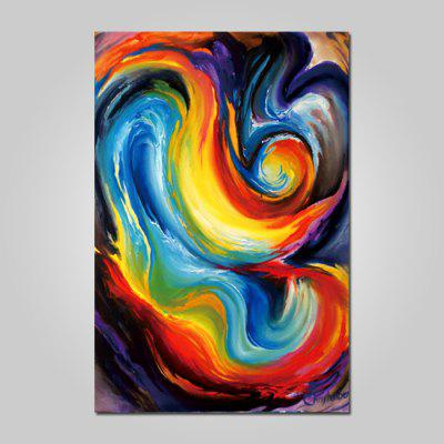 God Painting Canvas Prints Abstract Hanging Wall Art