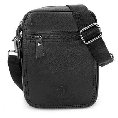 BULLCAPTAIN Leisure Mini Genuine Leather Shoulder Bag