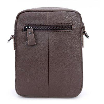 BULLCAPTAIN Leisure Mini Genuine Leather Shoulder BagCrossbody Bags<br>BULLCAPTAIN Leisure Mini Genuine Leather Shoulder Bag<br><br>Brand: BULLCAPTAIN<br>Closure Type: Zip<br>Features: Wearable<br>For: Daily Use, Shopping<br>Gender: Men<br>Material: Leather<br>Package Size(L x W x H): 16.00 x 3.00 x 22.00 cm / 6.3 x 1.18 x 8.66 inches<br>Package weight: 0.3200 kg<br>Packing List: 1 x Shoulder Bag<br>Product weight: 0.3000 kg<br>Style: Fashion, Casual<br>Type: Shoulder bag