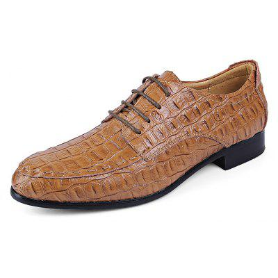 Male Business Soft Pointed-toe Crocodile Dress ShoesFormal Shoes<br>Male Business Soft Pointed-toe Crocodile Dress Shoes<br><br>Closure Type: Lace-Up<br>Contents: 1 x Pair of Shoes, 1 x Box<br>Function: Slip Resistant<br>Lining Material: Fur,Pigskin<br>Materials: Leather, Pigskin, Rubber, Fur<br>Occasion: Tea Party, Shopping, Office, Formal, Casual, Party, Daily, Dress<br>Outsole Material: Rubber<br>Package Size ( L x W x H ): 40.00 x 25.00 x 15.00 cm / 15.75 x 9.84 x 5.91 inches<br>Package weight: 1.2100 kg<br>Pattern Type: Solid<br>Product weight: 0.9000 kg<br>Seasons: Autumn,Spring<br>Style: Modern, Business, Casual, Comfortable, Fashion, Formal, Leisure<br>Toe Shape: Pointed Toe<br>Type: Casual Leather Shoes<br>Upper Material: Leather
