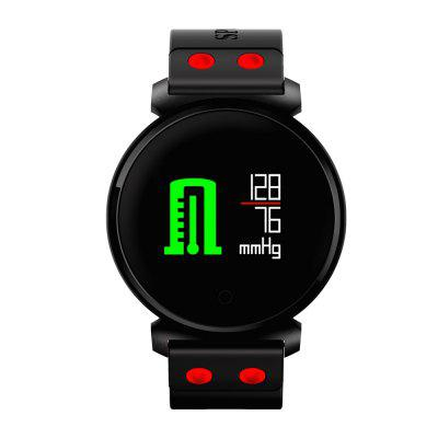 CACGO K2 Smart Watch for iOS / Android PhonesSmart Watches<br>CACGO K2 Smart Watch for iOS / Android Phones<br><br>Alert type: Vibration<br>Anti-lost: Yes<br>Band material: Silicone<br>Band size: 24.2 x 2cm<br>Battery  Capacity: 200mAh<br>Bluetooth calling: Callers name display,Phone call reminder<br>Bluetooth Version: Bluetooth 4.0<br>Brand: CACGO<br>Built-in chip type: Nordic 52832<br>Case material: Zinc Alloy<br>Charging Time: About 4 hours<br>Compatability: Android 4.4 / iOS 7.5 and above systems<br>Compatible OS: Android, IOS<br>Dial size: 4.1 x 4.1 x 1cm<br>Find phone: Yes<br>Groups of alarm: 3<br>Health tracker: Blood Oxygen,Blood Pressure,Heart rate monitor,Pedometer,Sleep monitor<br>IP rating: IP68<br>Language: English,French,German,Italian,Japanese,Korean,Portuguese,Russian,Simplified Chinese,Spanish,Traditional Chinese<br>Locking screen: 1<br>Messaging: Message reminder<br>Notification: Yes<br>Notification type: Facebook, Wechat, QQ, WhatsApp, Line<br>Operating mode: Touch Screen<br>Other Function: Waterproof, Alarm, Calendar, Bluetooth<br>Package Contents: 1 x Smart Watch, 1 x Charging Cable, 1 x English Manual<br>Package size (L x W x H): 13.20 x 7.70 x 3.60 cm / 5.2 x 3.03 x 1.42 inches<br>Package weight: 0.1400 kg<br>People: Female table,Male table<br>Product size (L x W x H): 24.20 x 4.10 x 1.00 cm / 9.53 x 1.61 x 0.39 inches<br>Product weight: 0.0500 kg<br>Remote control function: Remote Camera<br>Screen: OLED<br>Screen resolution: 96 x 64<br>Screen size: 0.95 inch<br>Shape of the dial: Round<br>Standby time: 30 days<br>Type of battery: Li-ion Battery<br>Waterproof: Yes