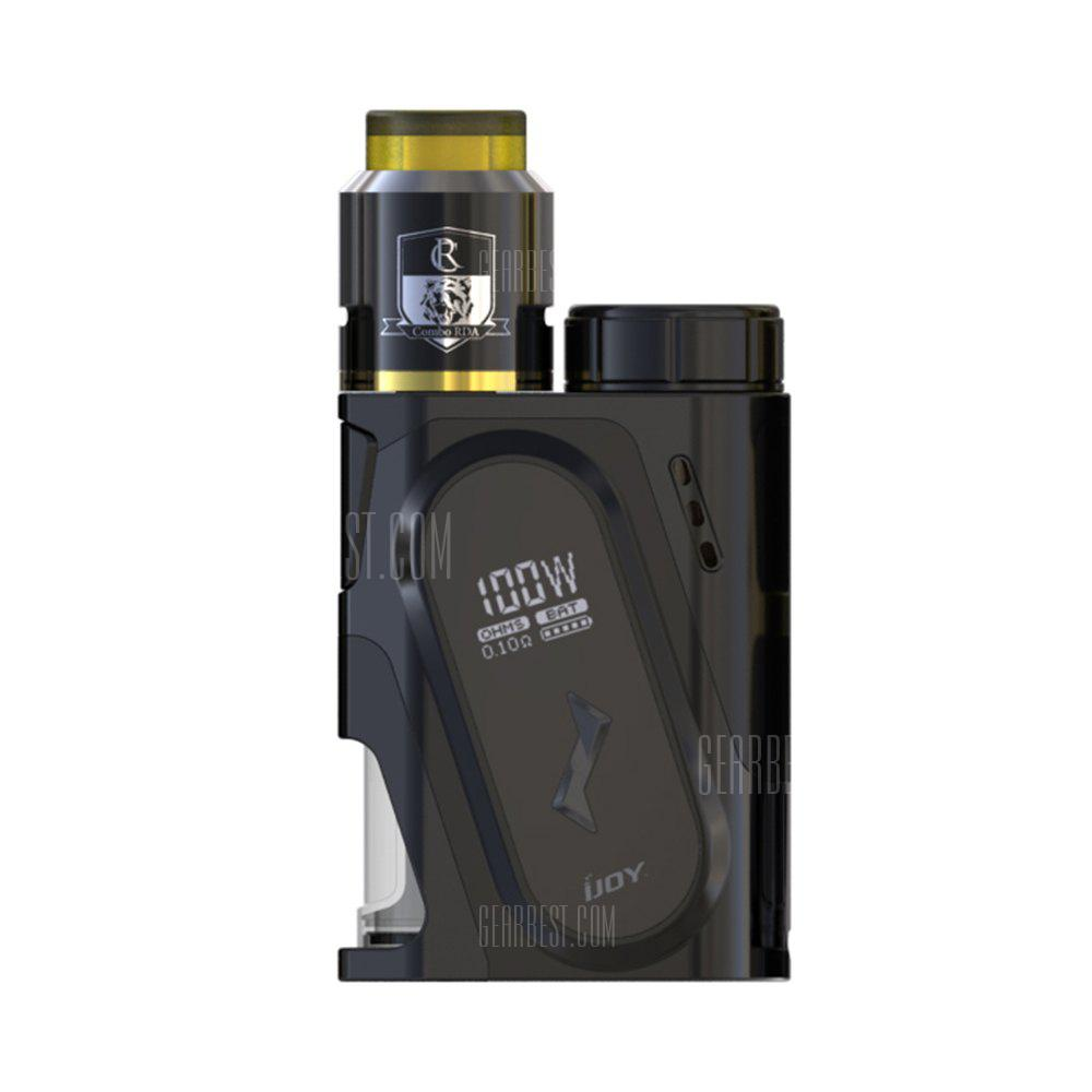 Original IJOY CAPO 100W Squonk Mod Kit - BLACK