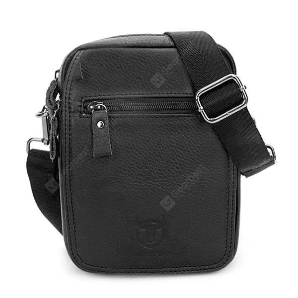 BULLCAPTAIN Leisure Mini Borsa a tracolla in vera pelle