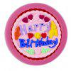 facemile 50 - 10 Fondant Cake Mold Happy Birthday Words - PINK