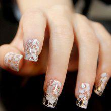 XM DIY Flower Design Manicure Tools Nail Sticker